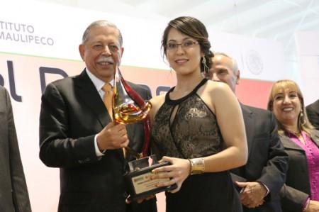Vanesa Infante recibe el Premio Estatal del Deporte 2014
