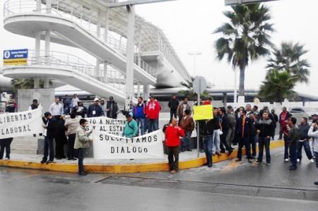 Se reportan protestas en puentes internacionales; no hay bloqueos