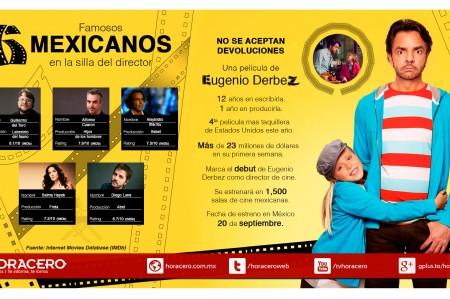 6 Famosos mexicanos en la silla del director