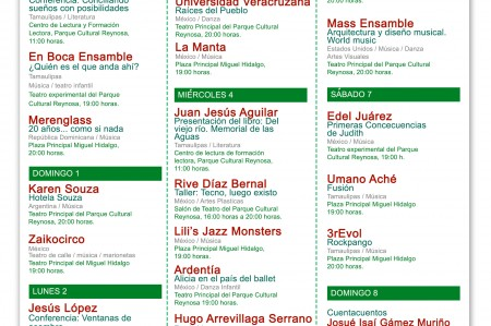 XIV Festival Internacional Tamaulipas