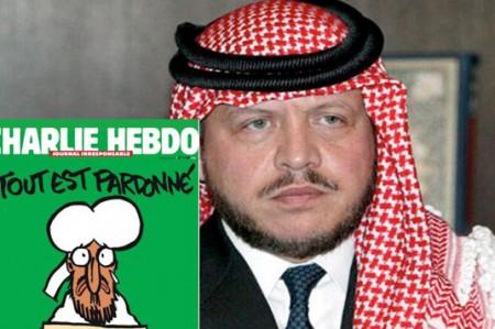 Charlie Hebdo fue irresponsable: rey de Jordania