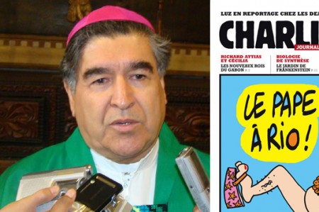 'Caricaturas de Charlie Hebdo son ofensivas': Obispo de San Cristóbal