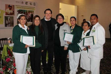 Reconoce el IMSS Reynosa a sus enfermeras y enfermeros