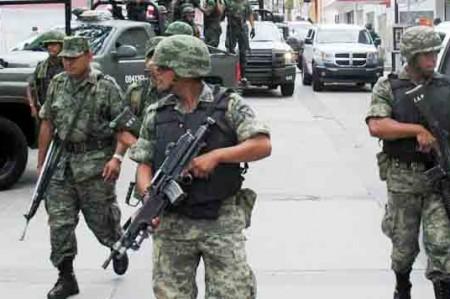 En 10 años de guerra, 3 mil 916 choques entre crimen y Ejército