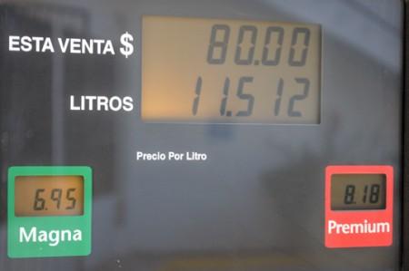 Está a 6.95 pesos litro de Magna en la frontera; video
