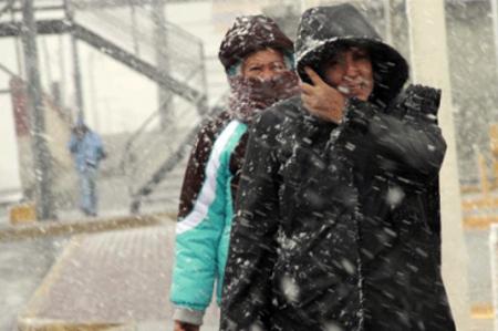 Frente frío y humedad de huracán 'Sandra'  generarán nevadas en Sonora