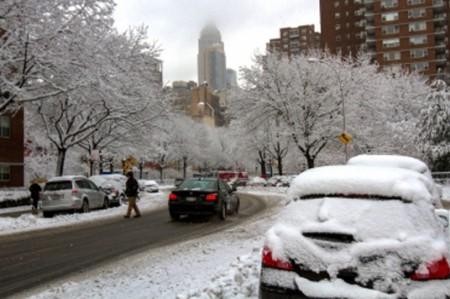 Este fin de semana la primera gran nevada del año en EU