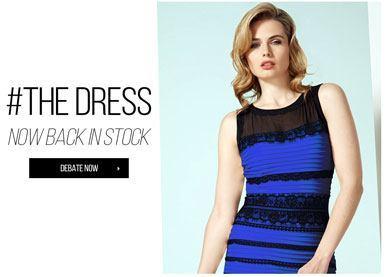 Se vuelven locos en Twitter por el tema de color en vestidos