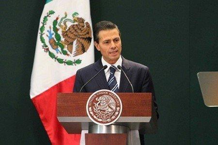 Llama Peña Nieto a crear frente común contra el cambio climático