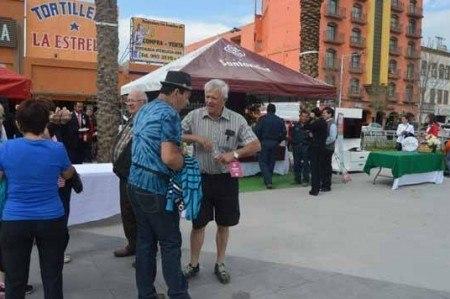 Celebran visita de 500 Winter Texans a Reynosa
