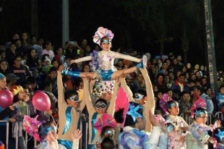 Colorido y alegría en Carnaval Tampico 2015; fotogalería