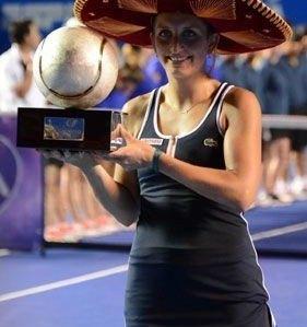La suiza Timea Bacsinszky es la nueva campeona del Abierto de Acapulco