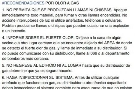 Emite PC recomendaciones ante fuerte olor a gas en Las Fuentes
