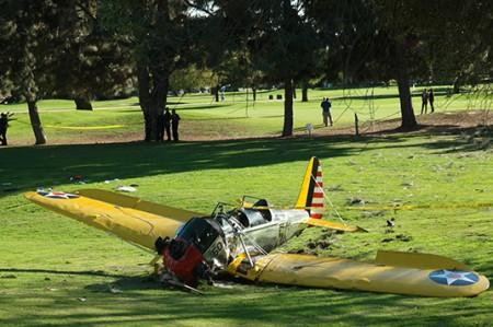 Las causas del accidente de avión de Harrison Ford se sabrán en un año