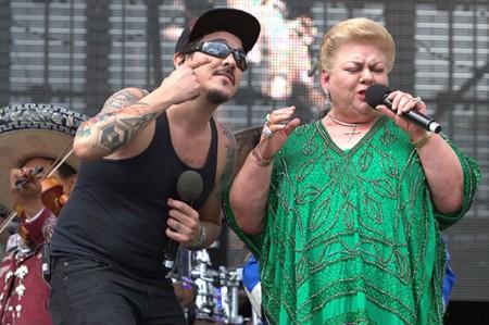 Paquita, conmovida hasta las lágrimas en el Vive Latino
