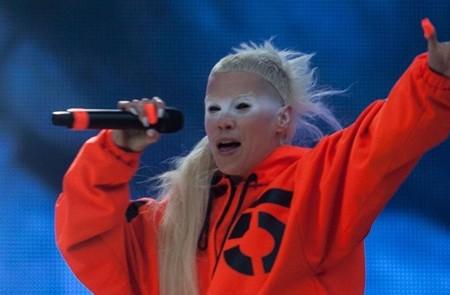 Olvidan el frío en el Vive Latino con Die Antwoord