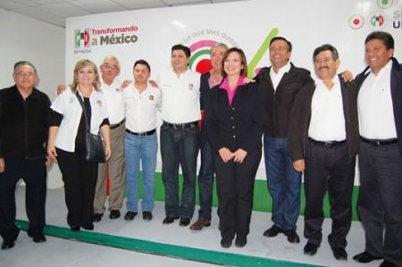 Celebran priistas 86 aniversario en Reynosa