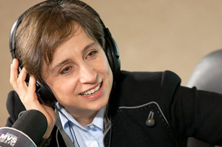 Presidencia se deslinda de demanda de MVS contra Aristegui