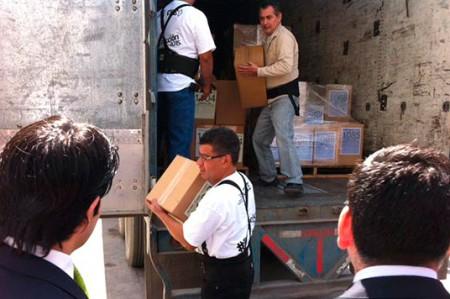 Comisión Electoral de Nuevo León recibe boletas electorales