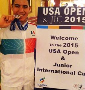 Miguel Ángel Maciel logra medalla en Copa Norteamericana de Karate