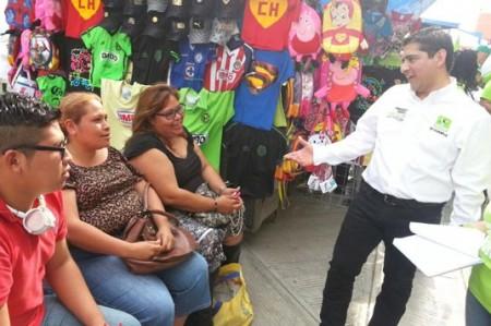 Humberto Rangel promete educación y empleo en Matamoros