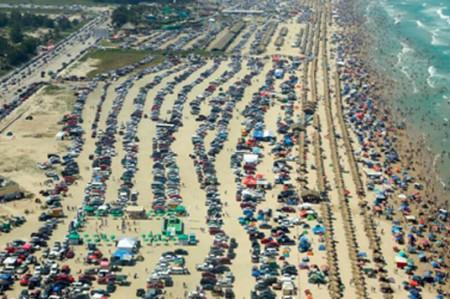 Saturan visitantes playas de Tamaulipas