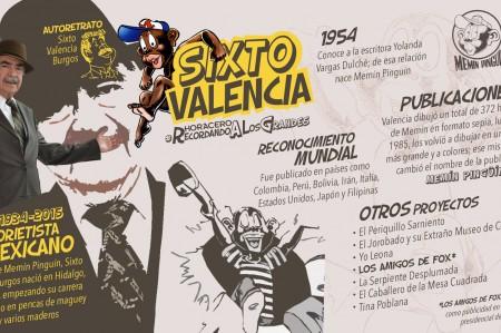 Sixto Valencia, padre de Memín Pinguín