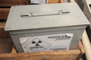 Piden ayuda para encontrar contenedor radiactivo