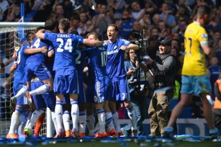 Chelsea obtiene quinto título de Liga tras triunfo ante Crystal Palace