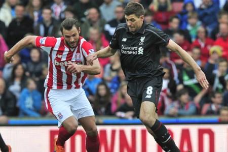 Stoke City despide a Steven Gerrard del Liverpool con goleada 6-1