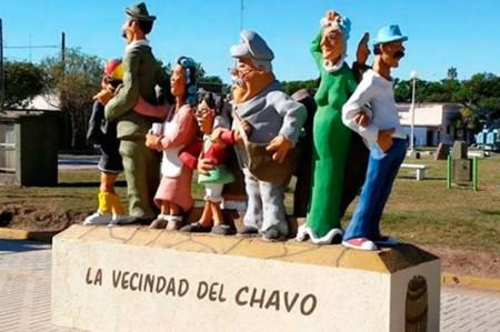 Polémica en Argentina por monumento a 'El Chavo del 8'