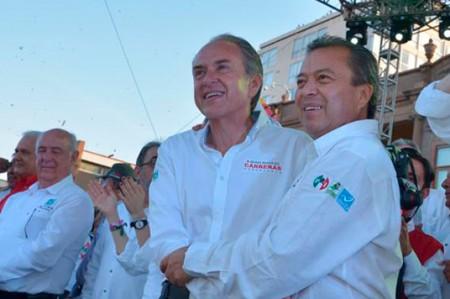 PRI declara ganador a Carreras en San Luis Potosí