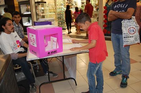 Los niños también votan