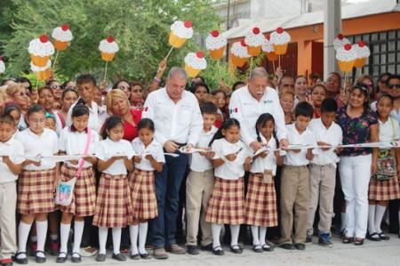 Inaugura Egidio Torre obras en Reynosa