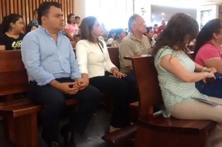 Da Ivonne gracias en Basílica de Guadalupe