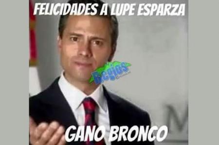 Memes sobre el  triunfo de El  Bronco y la derrota de Ivonne inundan redes sociales