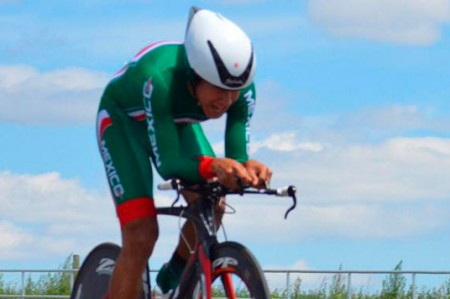 Ciclista Ignacio Prado se queda con plata en contrarreloj de JP