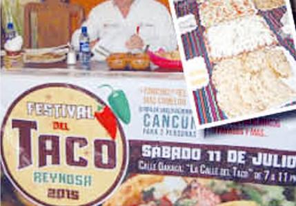 'Festival del Taco' busca al más tragón