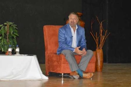 Jorge Castañeda presenta libro en Reynosa