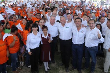 Egidio Torre Cantú arranca ciclo escolar en Reynosa