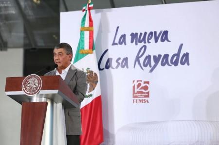 Celebra FEMSA 125 años con inauguración de estadio de Rayados