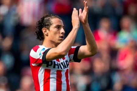 Con golazo de Andrés Guardado, PSV golea 6-3 a De Graafschap; video