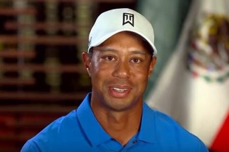 Tiger Woods envía mensaje a los mexicanos