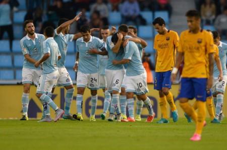 Celta golea 4-1 al Barcelona y lo deja sin liderato