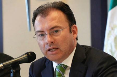 Videgaray realiza visita de trabajo a Morelia