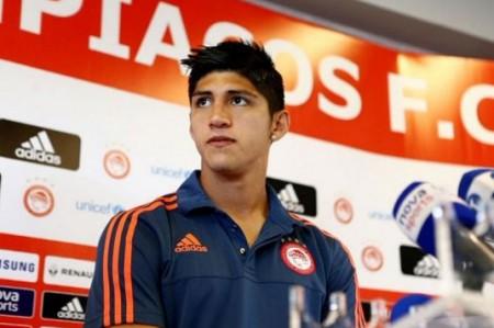 Olympiacos convoca a Pulido para visita al Anderlecht en Europa League