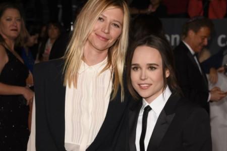 Ellen Page presenta a su novia en alfombra roja