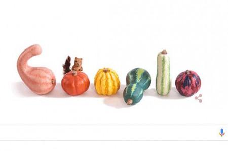 Google recibe el otoño con calabazas