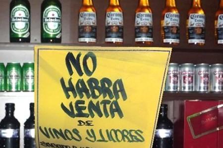 Habrá 'Ley Seca' por Fiestas de Independencia