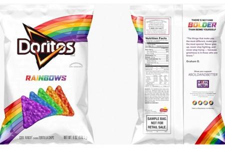 Lanzan 'Doritos Rainbow' para apoyar a la comunidad LGBT